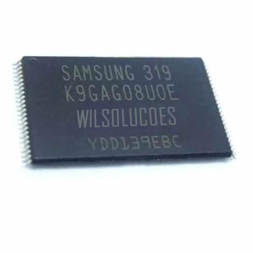 4x Memória Flash Nand Samsung Un32d5500 Un40d5500