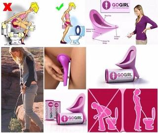 Urinarios Femeninos Portátiles 3 Por $5.000 Go Girl Oferta