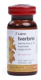 Ivermetina Desparasitante Interno Y Externo 10ml Iverbrin
