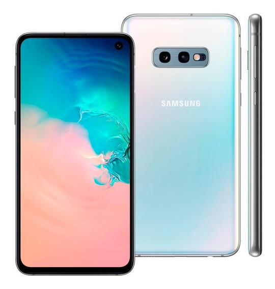 Smartphone Samsung Galaxy S10e, Bco, 5,8 128gb, 12mp+16mp