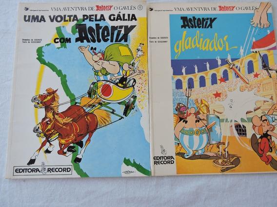 Revistas Asterix Uma Volta Pela Gália E Gladiador