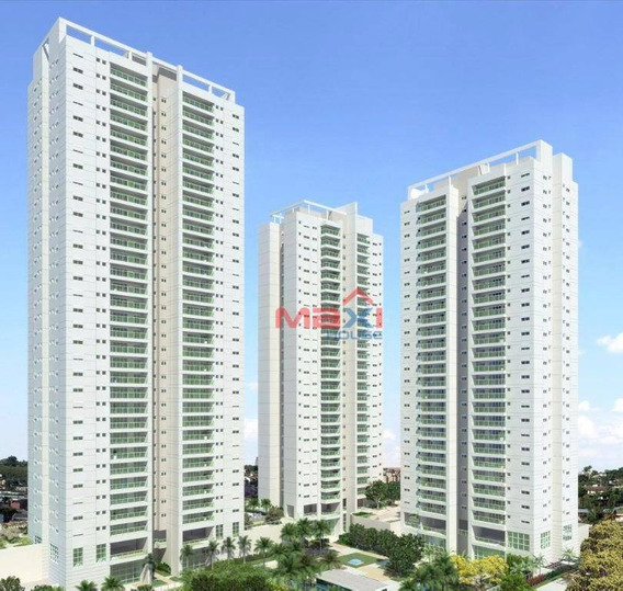 Apartamento De Alto Padrão, 136 M², Jardins Do Brasil, Amazônia, Ipê, 3 Suítes, 2 Vagas, Centro, Osasco - Ap0575