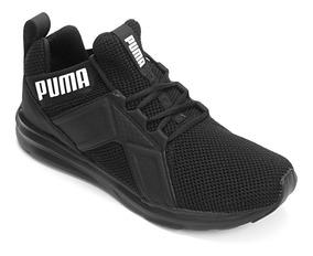 Tênis Puma Enzo Weave Preto Masculino Original