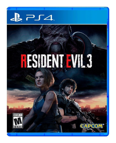 Imagen 1 de 4 de Resident Evil 3 Remake Capcom PS4 Físico