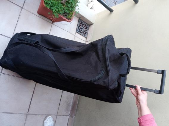 Bolso Grande Con Ruedas 90x35x35cm - Casi Sin Uso