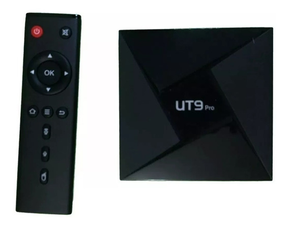 Android Tv Box Ut9 Pro Octa Core 3gb De Ram E 32gb De Rom
