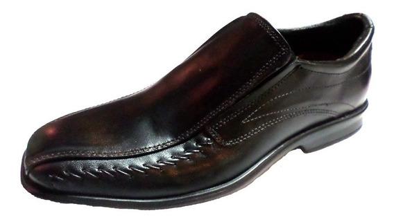 Zapato Vestir Cuero Punta Fina Costuras Febo | Morris (2000)