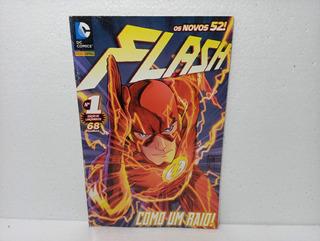 Gibi Hq Os Novos 52 Flash Nº 1 Como Um Raio!