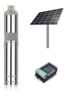 Electrobomba Sumergible Solar Kushiro 500w + 4 Paneles 190w