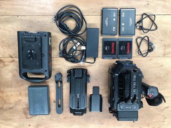 Blackmagic Mini Ursa 4k Ef + Mount Ssd + 2 Ssd 1tb + Case