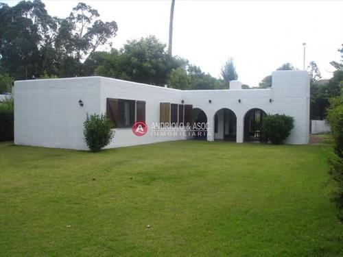 Casa En Venta Y Alquiler, San Rafael, Punta Del Este, 3 Dormitorios.- Ref: 6366
