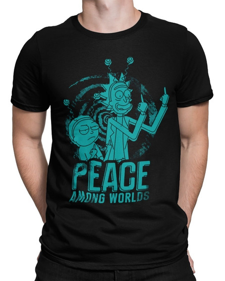 Camiseta Camisa Rick And Morthy Morty Tumblr Promoção Frete