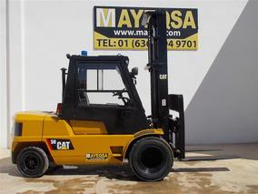 Montacargas Caterpillar Dp50 11000 Lbs Doble Rodado Cabina