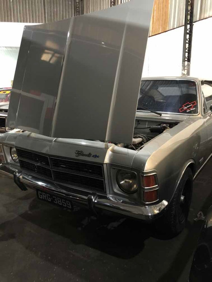 Opala Chevrolet 78/78 De Luxo 6cc Placa Preta