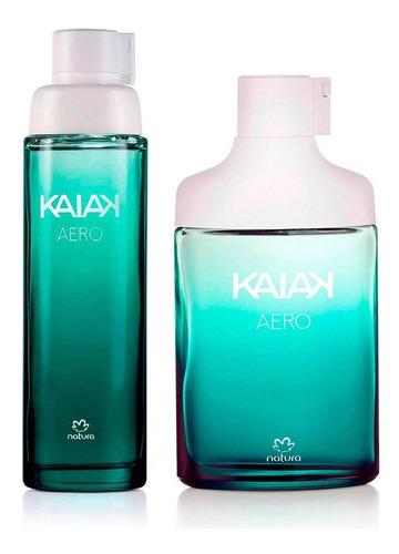 Kit Perfumes Kaiak Aero Femenino Y Masc - mL a $600