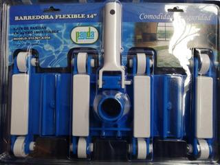 Kit Barredora Alberca 8 Rued +mangu Flexible 10.5mt + Conect