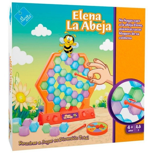 El Duende Azul Juego Elena La Abeja Jlt 6327 La Torre