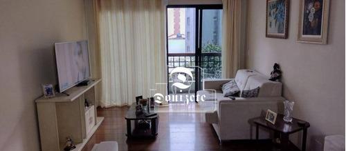 Apartamento Com 3 Dormitórios À Venda, 126 M² Por R$ 600.000,00 - Vila Bastos - Santo André/sp - Ap16996