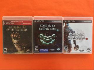 Dead Space 1,2 Y 3 Ps3