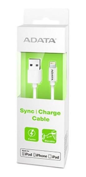 Cable Adata Usb Lighting Carga & Sync Apple Blanco /v /vc