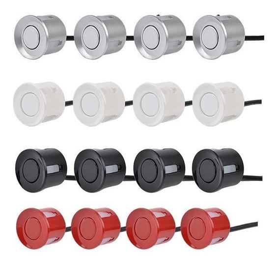 Sensor Estacionamento Ré 4 Sensores Display Sonoro Div. Cor