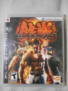 Tekken 6 Ps3 Con Manual Juegos Fisico Video Juegos Mandos