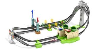 Hot Wheels Mario Kart Nintendo Circuito Pistas Ghk15
