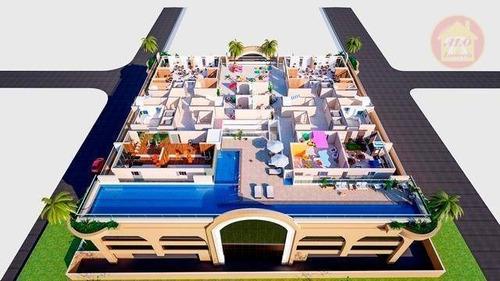 Apartamento À Venda, 47 M² Por R$ 201.000,00 - Planalto Bela Vista - São Vicente/sp - Ap4241
