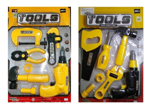 Set De Herramientas De Juguete Para Niños New Tools - Trucco