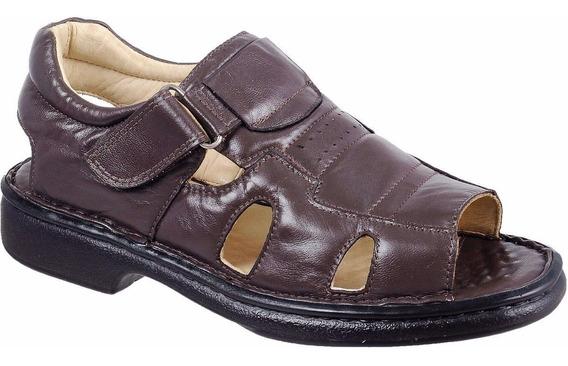 Sandália Sapato Antistress Masculino Confort Ortopédico Novo