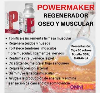Powermaker Omnilife Regenerador Óseo Y Muscular