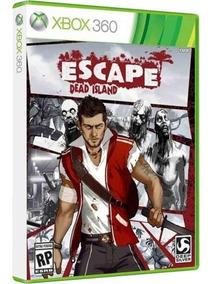 Escape Dead Island - Jogo P/ Xbox Original - Midia Fisica