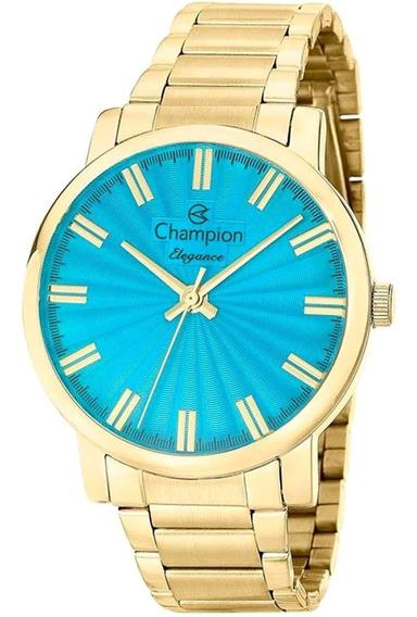 Relógio Feminino Champion Cn26037f Barato Original Garantia