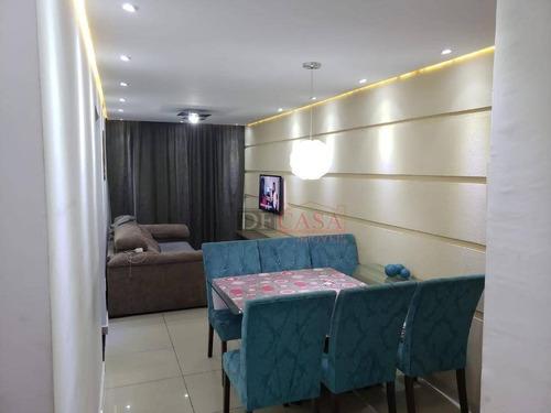 Imagem 1 de 18 de Apartamento Com 2 Dormitórios À Venda, 49 M² Por R$ 215.000 - Vila Nova Curuçá - São Paulo/sp - Ap4979