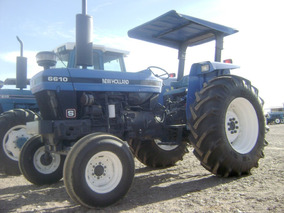 Maquinaria Agrícola Tractor New Holland 6610