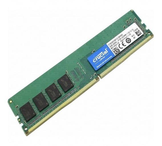Memoria Ram Pc Ddr4 16gb Crucial