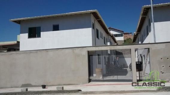 Casa Geminada Com 3 Quartos Para Comprar No São Benedito Em Santa Luzia/mg - 2582