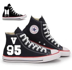 Tênis Bts Kpop Bangtan Boys Tênis Bts V 95 All Star Converse