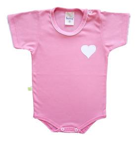 Body Bebê Menina Ou Menino Bordado 100% Algodão Verão 2020
