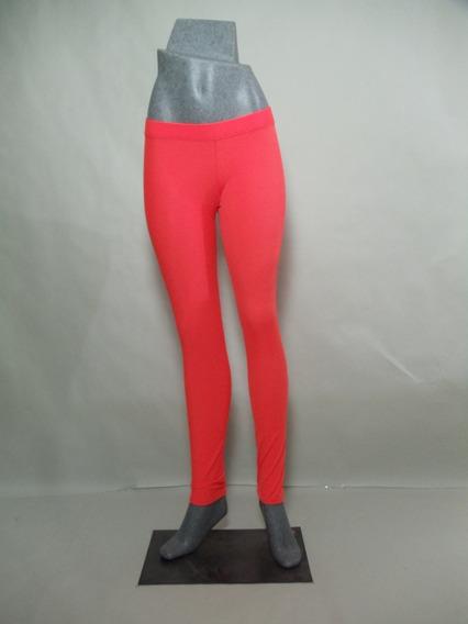 Leggings De Lycra Naranja Neon