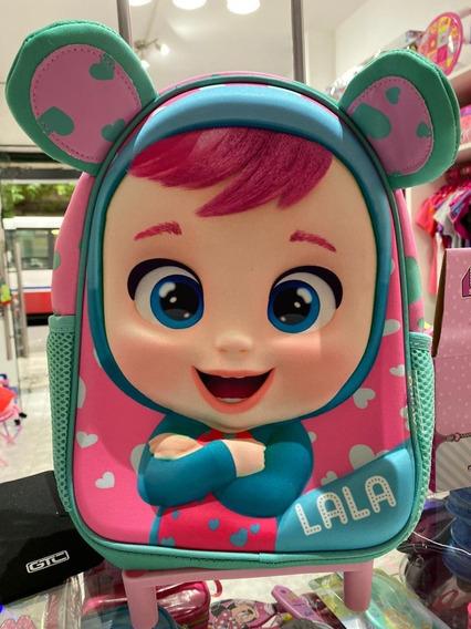 Mochila Carrito Cry Baby - Lady , Lea , Lala - Original 3d