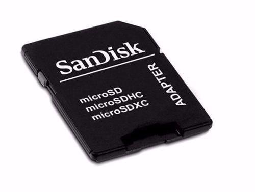 10 Adaptadores Leitor Cartão Micro Sd Sd Sandisk Sdcard Nf