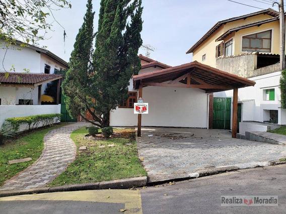 Casa Térrea - Condomínio Fechado - Granja Viana - Ca1261
