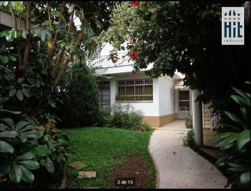 Imagem 1 de 14 de Casa À Venda, 383 M² Por R$ 2.000.000,00 - Ipiranga - São Paulo/sp - Ca0173