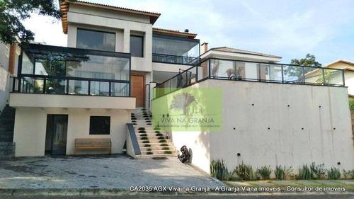 Imagem 1 de 30 de Casa Com 3 Dormitórios À Venda, 326 M² Por R$ 1.650.000,00 - Granja Viana - Carapicuíba/sp - Ca2035