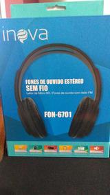 Fone De Ouvido Sem Fio Bluetooh Com Radio Fm ,sd, Promoção
