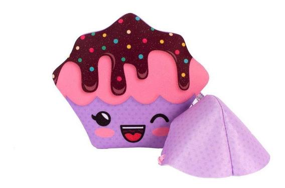 Bolsa Infantil Princesa Pink De Mochila Mini Cupcake