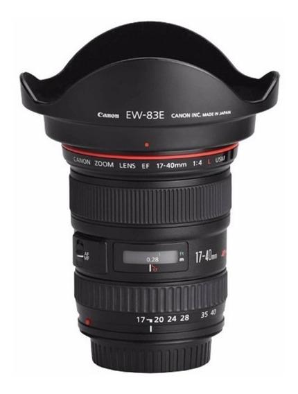 Objetiva Canon 17-40mm Ii F4 L Ultrasonic