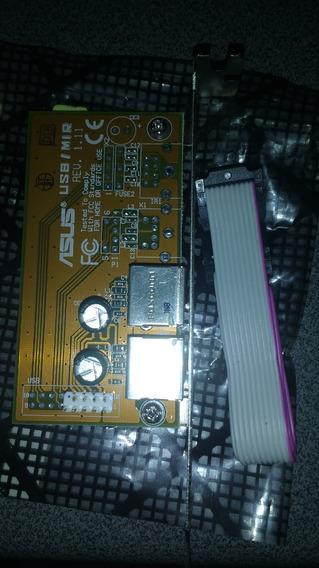 Adaptador Asus / Mir 2 X Usb 2.0 Espelho Traseiro