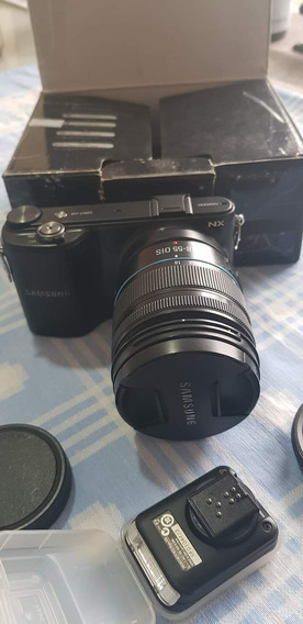 Câmera Samsung Semiprofissional Nx2000